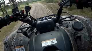 getlinkyoutube.com-Yamaha Grizzly 700 & Polaris Sportsman 800 GOPRO TEST