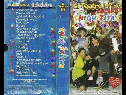 CHIQUITITAS TEATRO COMPLETO 1997