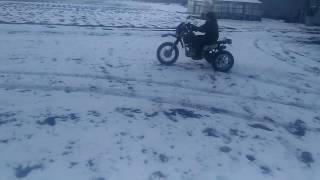 getlinkyoutube.com-Самодельный квадроцикл из китайского мотоцикла. Часть 1.