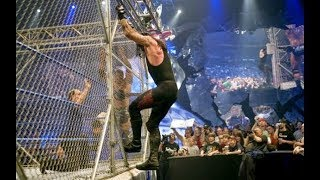 The Undertaker vs Batista - Steel Cage Match - Smackdown 2007 - MOST DRAMATIC CAGE MATCH EVER