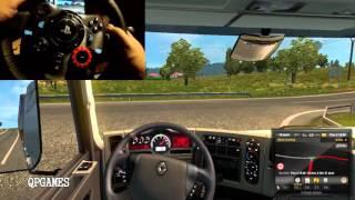 getlinkyoutube.com-Euro Truck Simulator 2 Gopro Wheelcam Logitech G29 Country & Folk