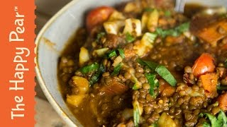 Coconut and Green Lentil Dahl - The Happy Pear