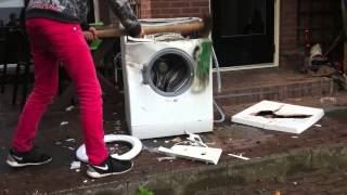 getlinkyoutube.com-SoWhat wasmachine slopen