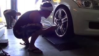getlinkyoutube.com-タイヤ交換 V36スカイラインのタイヤ組替えしました~