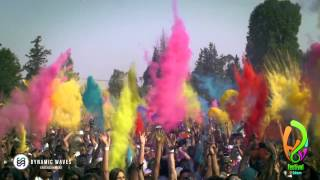 getlinkyoutube.com-Holi Festival Of Colours Mexico City 2014