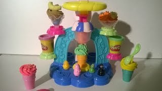 getlinkyoutube.com-Play Doh Ice Cream Barbapapa