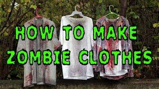 getlinkyoutube.com-DIY: How To Make Zombie Clothes