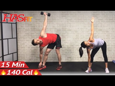 15 Min Abs and Obliques Workout Exercises for a Smaller Waist - 15 Minute Ab Workout Oblique at Home