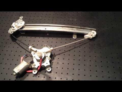 Стеклоподъемник электр. передний правый для Mitsubishi Outlander (CU) 2003-2009