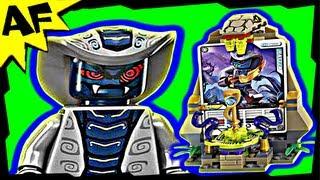 getlinkyoutube.com-RATTLA Character Card Shrine Lego Ninjago 850445 Stop Motion Set Review