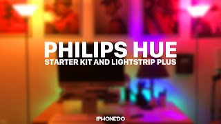 getlinkyoutube.com-Philips Hue — Starter Kit & Lightstrip Plus