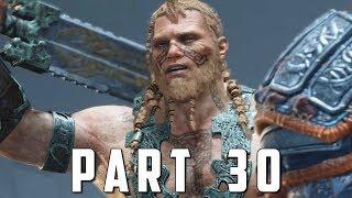 GOD OF WAR Walkthrough Gameplay Part 30 - MAGNI & MODI BOSS (God of War 4)