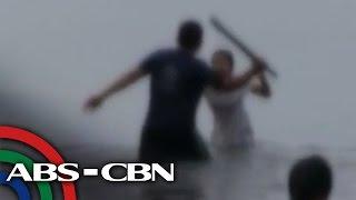 getlinkyoutube.com-Nene, hinabol, hinataw ng tatay sa Manila Bay