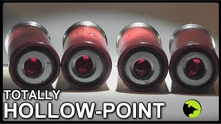getlinkyoutube.com-Totally HOLLOW Bullets?   - Unusual Shotgun Slug