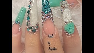 getlinkyoutube.com-GLAMOUR NAILS