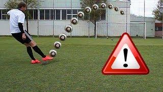 getlinkyoutube.com-Cristiano Ronaldo Longshot Top Spin Tutorial | How to shoot a Dip / Dipping Ball