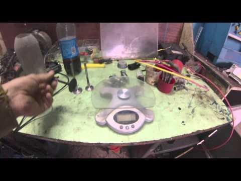 Титановые клапана на субару