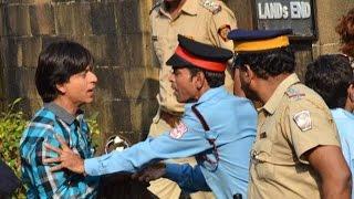 Camera set up outside Shah Rukh Khan's Mannat for 'Fan' shoot | Bollywood News
