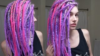 getlinkyoutube.com-Hair Transformation - Purple Rain