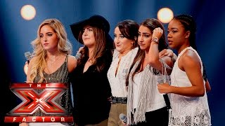 getlinkyoutube.com-Mon Amie want to blow the roof off with Britney hit | 6 Chair Challenge | The X Factor UK 2015