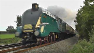 getlinkyoutube.com-Steam Locomotives At Speed !!