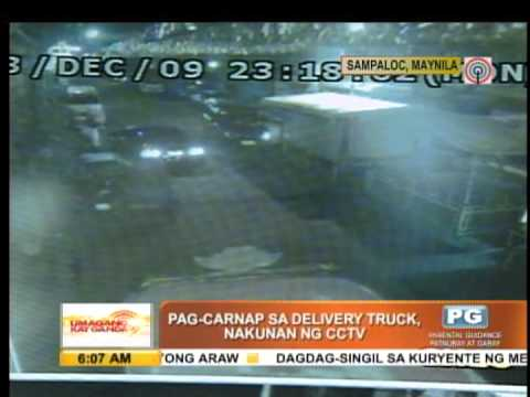 WATCH: Carjack of delivery truck in 14 seconds