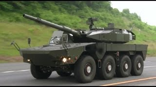 getlinkyoutube.com-JGSDF - 105mm 8X8 Maneuver Combat Vehicle (MCV) Testing [1080p]