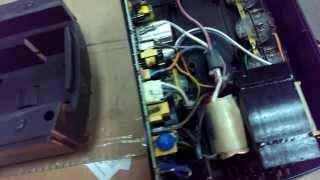 getlinkyoutube.com-APC 525 пищит, красная лампа, уходит в перегрузку