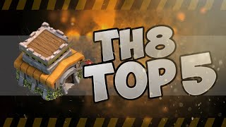 Clash of Clans | Best TH8 War Base | GoWiPe Dragons Hogs | 2015 Top 5 | Town Hall 8 th8