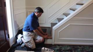How to Install a Box Newel and Handrail (Knee wall)
