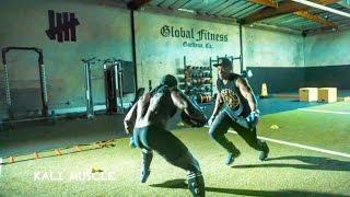 getlinkyoutube.com-Kali Muscle Training For NFL Tryouts ?