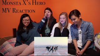 getlinkyoutube.com-MONSTA X- HERO (RoofTop Vers.) Reaction (+ Non-Kpop Fans)