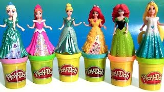 getlinkyoutube.com-Play Doh Magiclip Cinderella Fairytale Set with Prince Charming Royal Carriage PlayDough Magic Clip