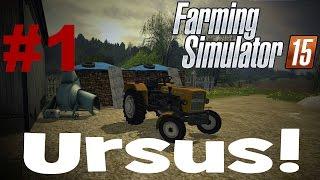 getlinkyoutube.com-Farming Simulator 2015 S. 2 #1 - Ursus!