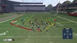 getlinkyoutube.com-Madden 16: Madden 16 Offensive Money Play- Mini Scheme- Gun Split close Pats- HB Wheel