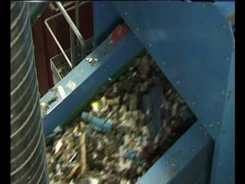 Commercial and Industrial Waste Recycling Plant