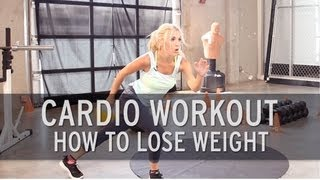 getlinkyoutube.com-Cardio Workout: How to Lose Weight