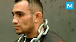 getlinkyoutube.com-Tony Ferguson Training for Rafael Dos Anjos | Muscle Madness