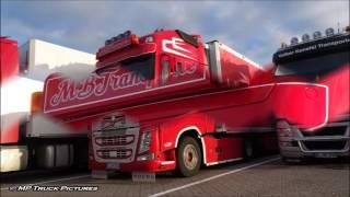 getlinkyoutube.com-Truckspotting Autohof Rade u.a mit Nottelmann Transporte, Michael Brünger Transporte, Hovotrans