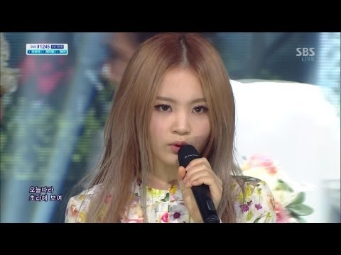 LEE HI (이하이) - ROSE @SBS Inkigayo 인기가요 2013.04.21