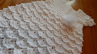 getlinkyoutube.com-Vestido Blanco Crochet parte 3 de 3