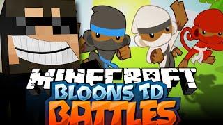 getlinkyoutube.com-Minecraft Bloons TD Battle | ZEUS TOWERS ARE INSANE