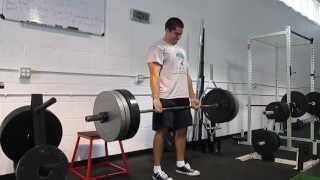 Deadlift Challenge 315 for half and hour 90 reps