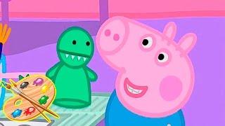 getlinkyoutube.com-Impariamo insieme a colorare disegni di Peppa Pig il compleanno, Video divertenti per bambini