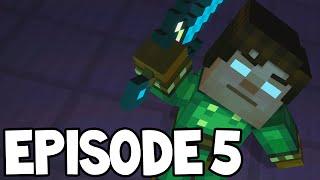 "getlinkyoutube.com-Minecraft Story Mode - Episode 5 - ALL CHAPTERS! ""ORDER UP"""