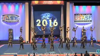 TOP GUN Large Coed Worlds 2016 Semi Finals