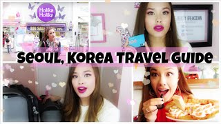 My Seoul, Korea Trip Travel Guide Tips and Tricks! Food, Money, Accomodations, etc!