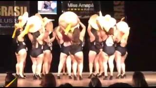 getlinkyoutube.com-Desfile Acqua Rosa Moda Praia Plus Size patrocina Miss Brasil Plus Size 2016 - Amapá