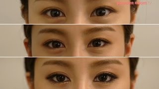 getlinkyoutube.com-(ENG SUB) 눈화장만으로 3단 변신! 3色 아이메이크업 팁 공개! (Eyes make up tips for 3 Different Looks)