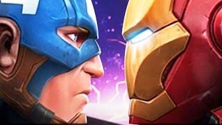 getlinkyoutube.com-TEAM IRON MAN OR TEAM CAPTAIN AMERICA - Marvel Contest of Champions CIVIL WAR - Gameplay Part 43